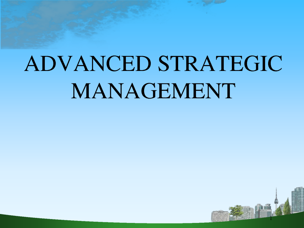 advanced strategic management Pris: 718 kr häftad, 2015 skickas inom 5-8 vardagar köp advanced strategic management av veronique ambrosini, mark jenkins, nardine collier, nardine mowbray på.