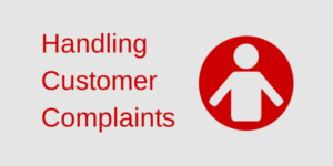 Handling Customer Complain