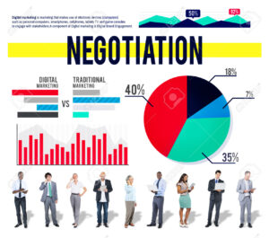Negotiation Deal Collaboration Marketing Strategy Concept