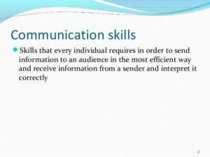 Presentation And Communication Skill