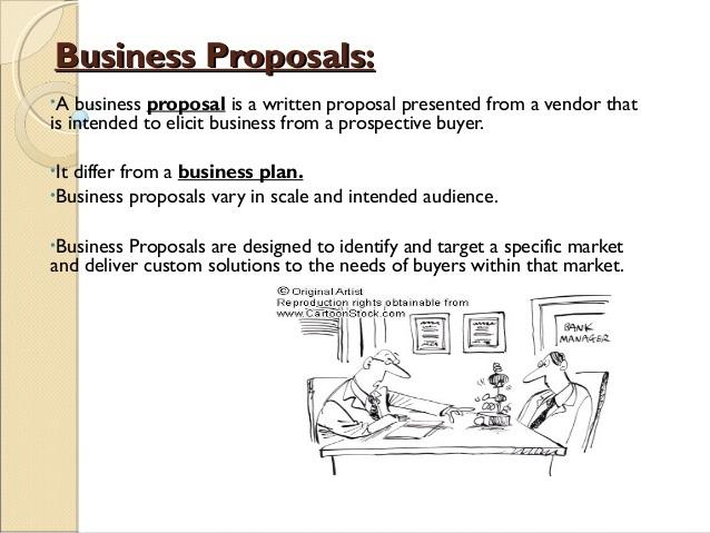 how do i write a business proposal